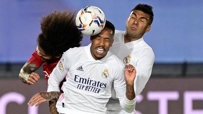 Militao, amenaza aérea del Real Madrid