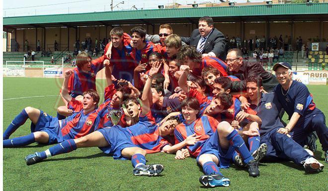 20. Gerard Piqué 2002-2003