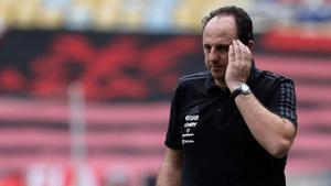 Rogerio Ceni está siendo muy contestado en el Flamengo
