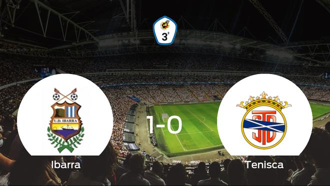 El Ibarra gana al Tenisca por 1-0