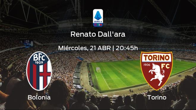 Previa del partido: Bolonia - Torino