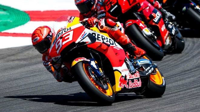 Márquez MotoGP declas