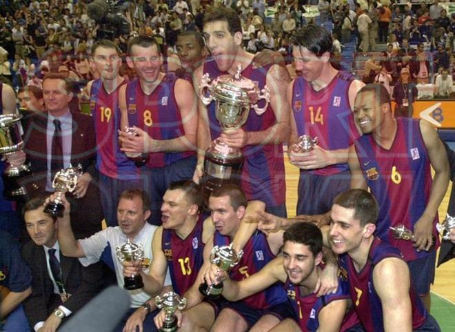Temp 2000-2001 (Málaga): Final FC Barcelona ¿ Real Madrid