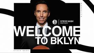 Steve Nash, nuevo entrenador de los Nets de Brooklyn