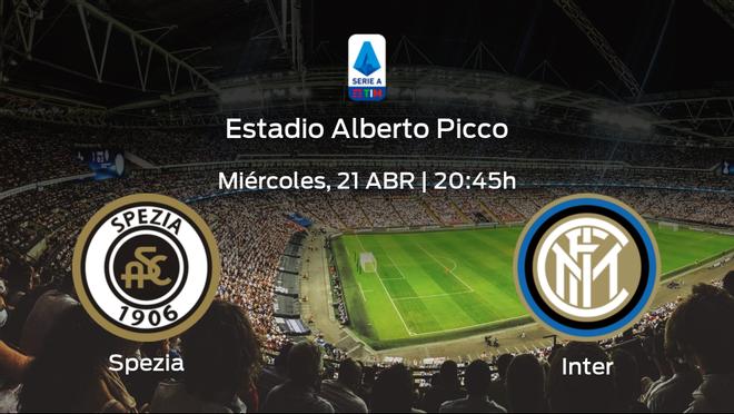 Previa del partido: el Inter defiende su liderato ante el Spezia Calcio