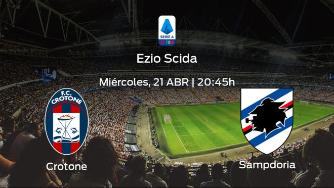 Previa del partido: Crotone - Sampdoria