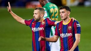 Pedri ya había estrenado su cuenta anotadora con el Barça en Champions ante el Ferencvaros