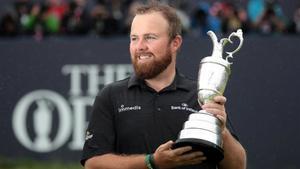 El irlandés Shane Lowry levanta el trofeo de 2019