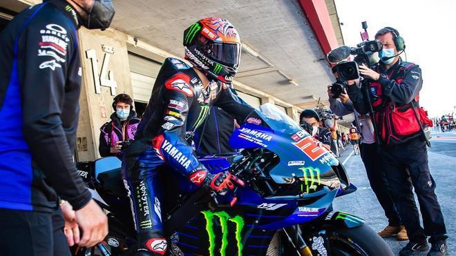 Quartararo poleman Portimao MotoGP