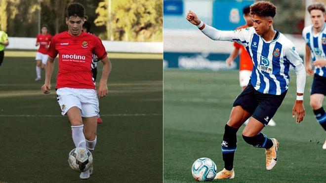 Oscar Romero y Mateo Joseph, durante esta temporada