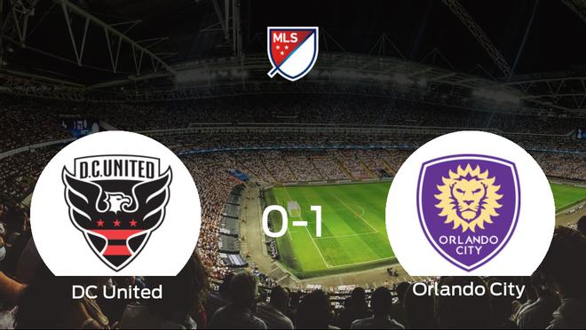 El Orlando City logra una ajustada victoria frente al DC United (0-1)