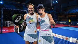Gemma y Lucía celebran el pase a semifinales