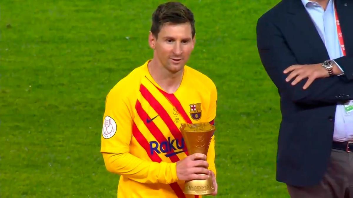 Revive la exhibición de Leo Messi que vale por una Copa del Rey