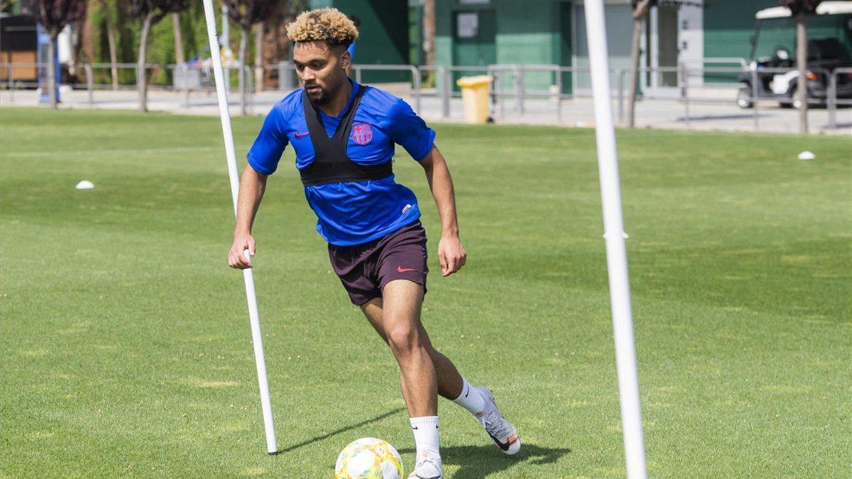 Konrad fue protagonista en la victoria del Barça