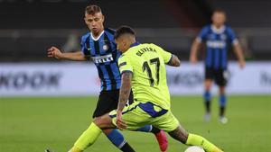 Olivera, ante el Inter en la última Europa League