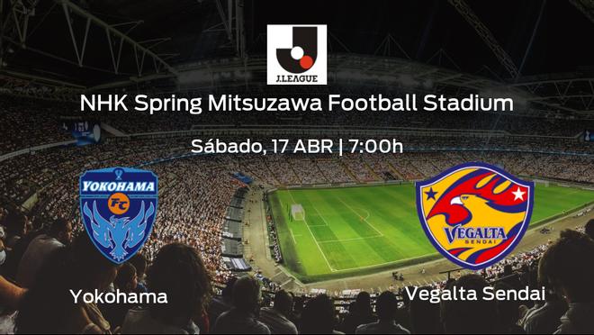 Previa del partido: el Yokohama recibe al Vegalta Sendai