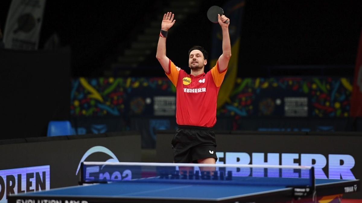 Timo Boll, vigente campeón europeo