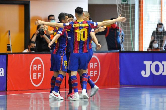 El Barça completó un gran encuentro en Tudela