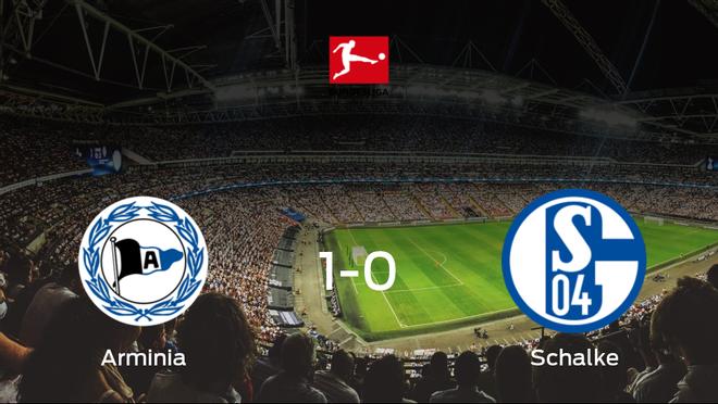 Triunfo 1-0 del Arminia Bielefeld ante el Schalke 04