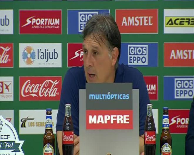 Martino: Jugamos con corazón, pero nos faltó un poco más de fútbol