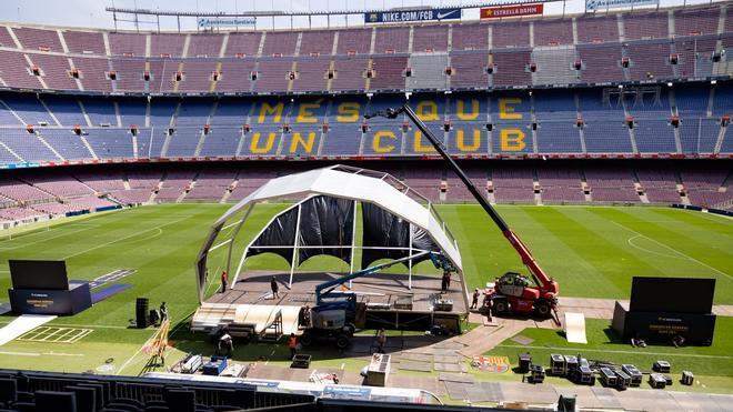 Comienzan los preparativos de la Asamblea de compromisarios del Barça