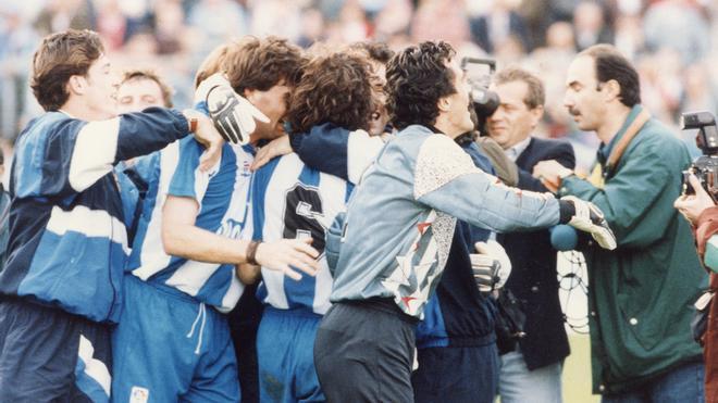 El último ascenso del Espanyol fue en 1994, tras ganar al Cádiz