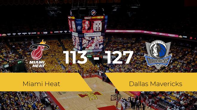 Dallas Mavericks consigue vencer a Miami Heat (113-127)