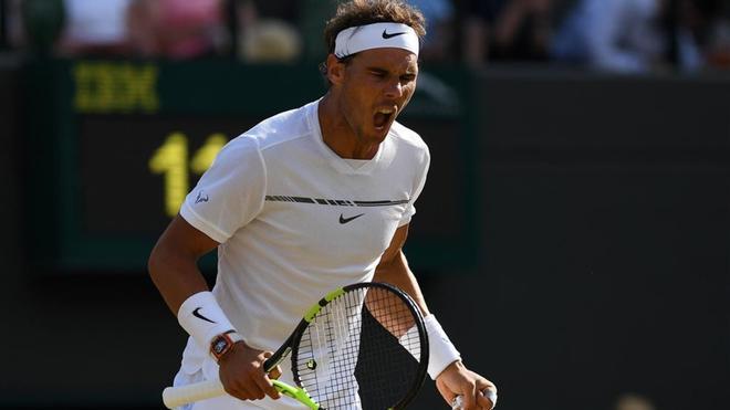 Federer primero y Nadal segundo cabeza de serie en Wimbledon