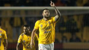 Antológica actuación de Gignac: 4 goles y goleada de Tigres