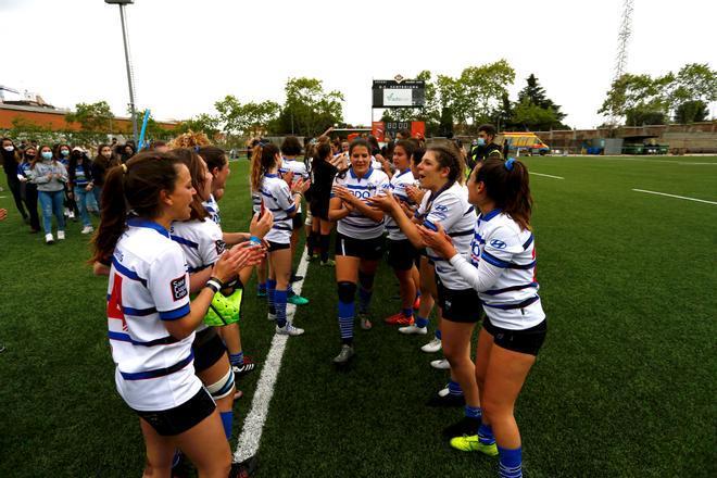 CR Sant Cugat ya es equipo de la DH Liga Iberdrola de Rugby