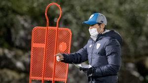 Marcelino dirigió su primer entrenamiento al frente del Athletic de Bilbao