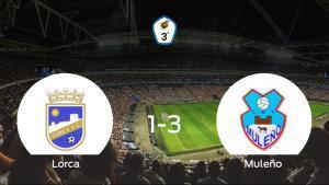 El Muleño gana al Lorca en el Francisco Artés Carrasco (1-3)