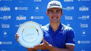 El sudafricano Higgo logró la segunda victoria en las Canarias, después de hacerlo dos semanas atrás