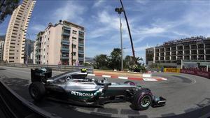 Hamilton, el más rápido en Mónaco