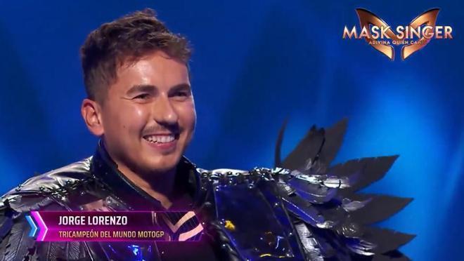 Lorenzo desveló que él era el Cuervo que cantaba en Mask Singer