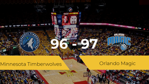 Triunfo de Orlando Magic ante Minnesota Timberwolves por 96-97