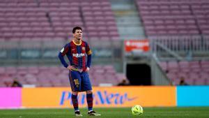 Messi, protagonista