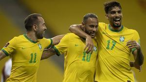 El resumen de la victoria de Brasil ante Perú