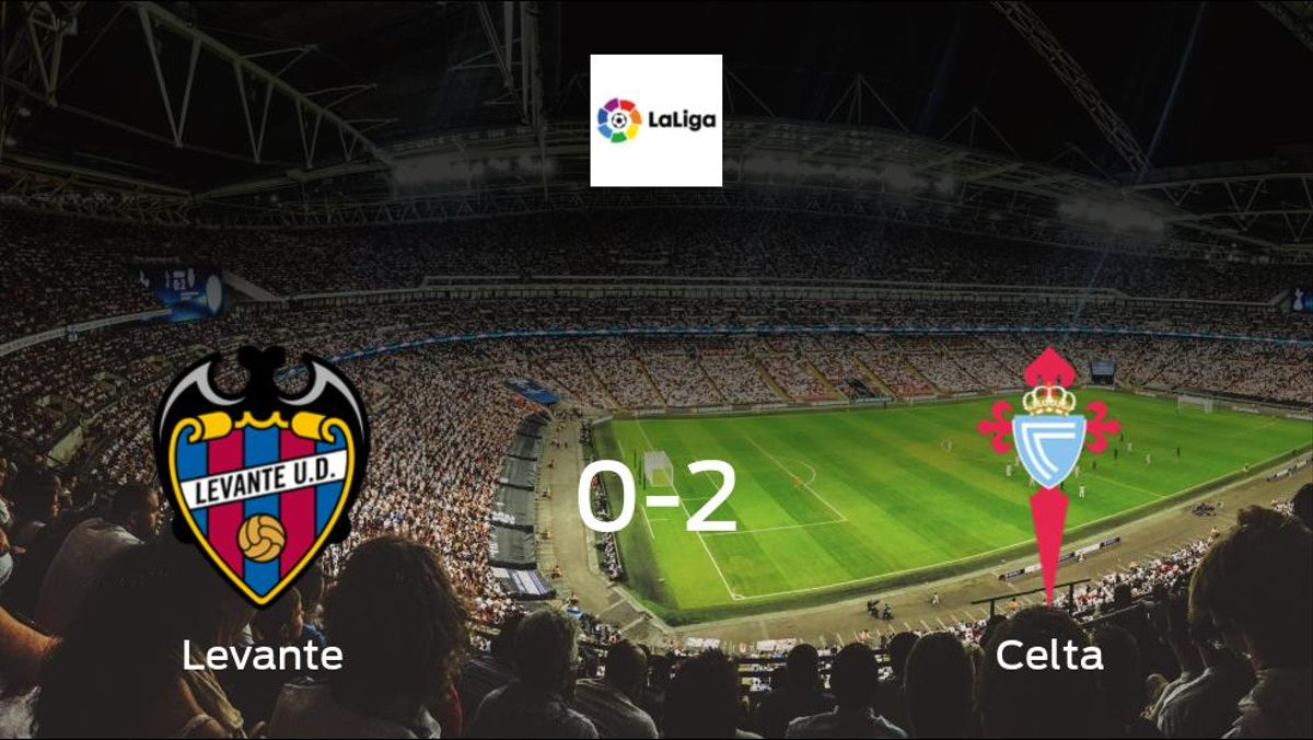 Jubilant Celta take all 3 points against Levante, in a 2-0 win