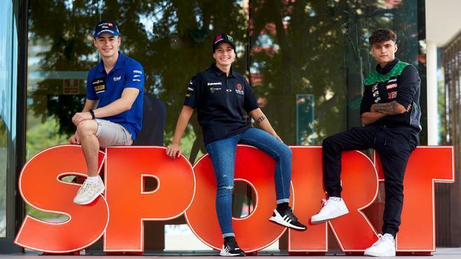 Ana Carrasco, Manu González y Adrián Huertas explican a SPORT cómo afrontar a la carrera del Mundial de Superbikes en el Circuit de Catalunya