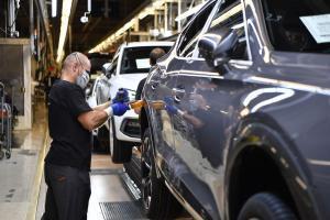 La producción española de vehículos cayó un 9% en enero