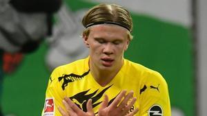 Haaland, delantero del Borussia Dortmund