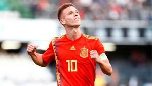 Dani Olmo: No me imagino un Barça sin Leo Messi