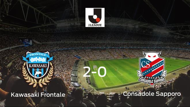 Los tres puntos se quedan en casa: Kawasaki Frontale 2-0 Consadole Sapporo