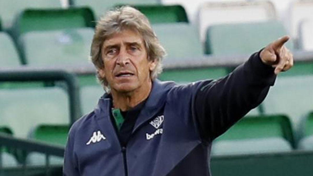 Manuel Pellegrini, entrenador del Betis