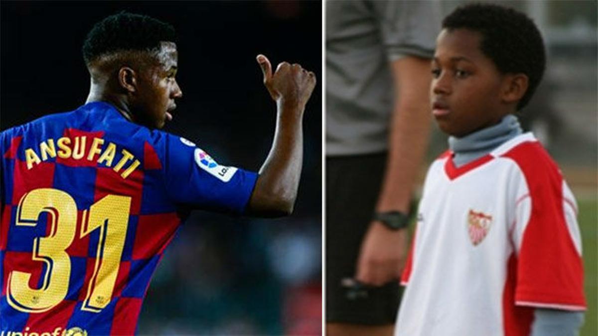 El fichaje de Ansu por el Barça provocó el enfado de Del Nido