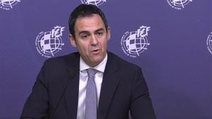 Velasco Carballo, presidente del Comité Técnico de Árbitros
