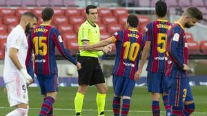 El 1x1 de los jugadores del Barça ante el Real Madrid