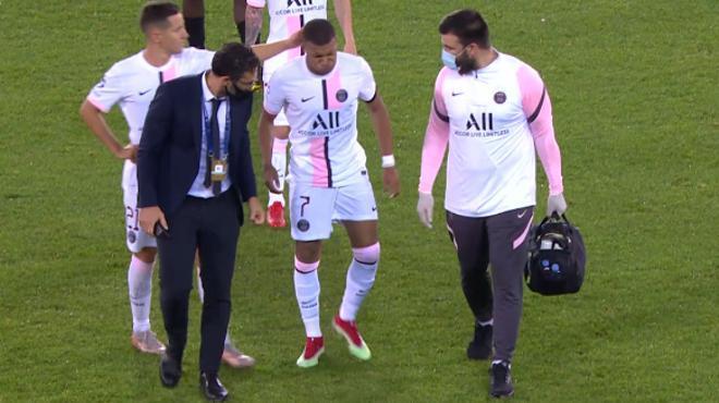 Mbappé, duda ante el Lyon