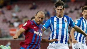 ¡Marca el delantero que se resiste a que pase el tren del Barça para él! ¡Braithwaite quiere seguir escribir sus páginas en el Camp Nou!